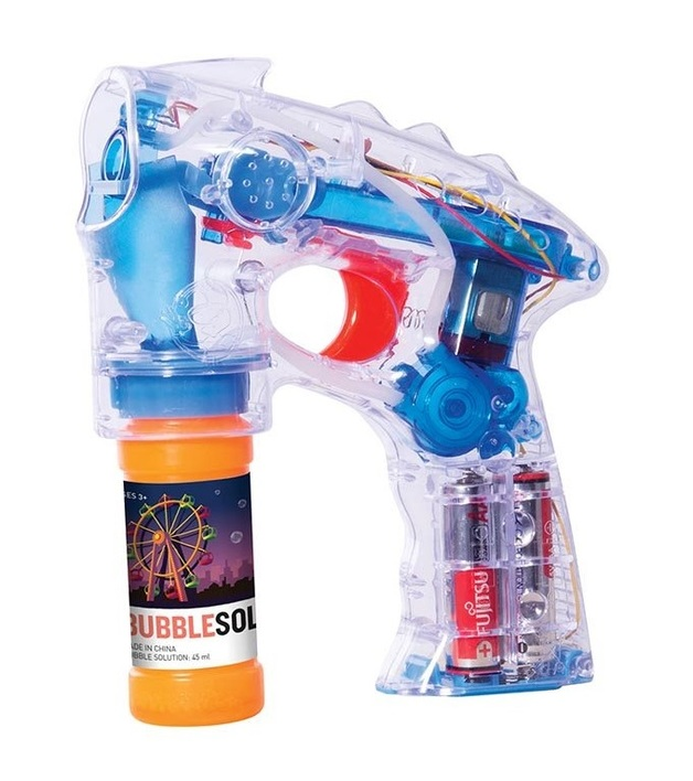 IS Gift - Light Up Bubble Blaster (Assorted Designs)