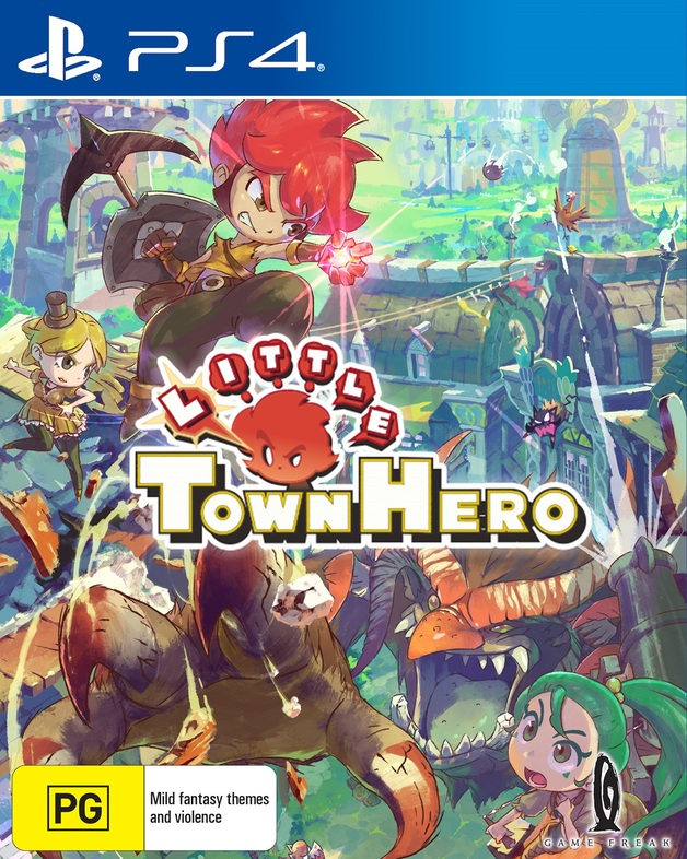 Little Town Hero Big Idea Edition for PS4