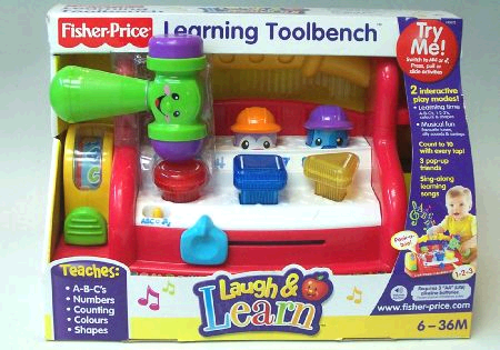 Fisher Price Tool Bench image