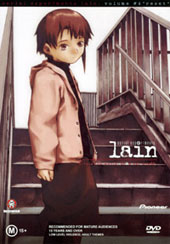Lain - Volume 4 - Reset on DVD