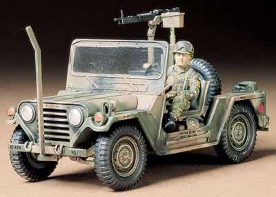 Tamiya U.S. M151A2 Ford Jeep Mutt 1/35 Model Kit image