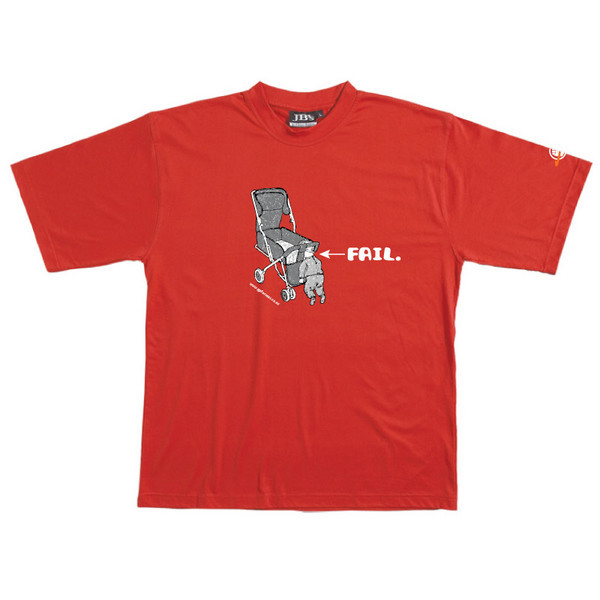 Baby Fail - Tshirt (Red) for