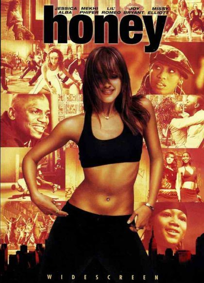 Honey on DVD image
