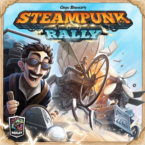 Steampunk Rally - Board Game