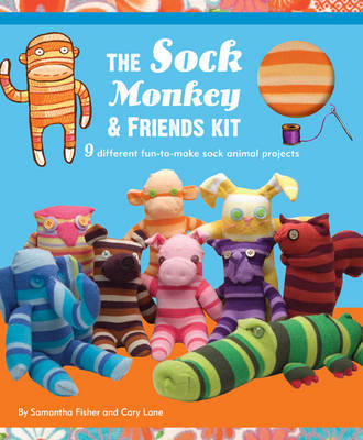 Sock Monkey and Friends Kit by Samantha Fisher image