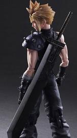 Final Fantasy: Cloud Strife - Play Arts Kai Figure image