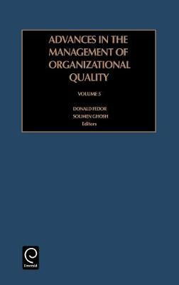 Advances in the Management of Organizational Quality image