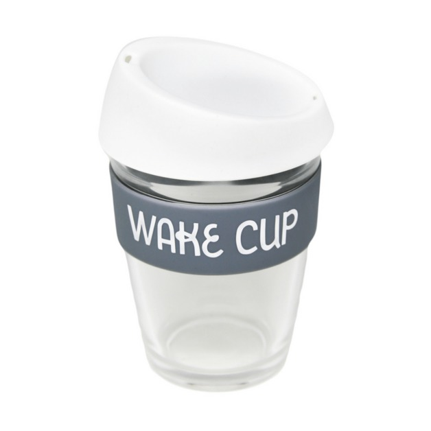 General Eclectic: Travel Mug - Wake Cup (340ml)