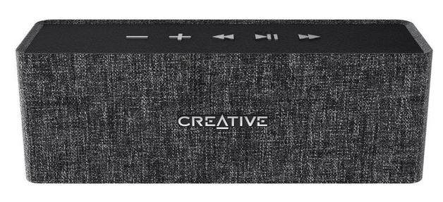 Creative Nuno Designer Cloth Bluetooth Speaker - Black