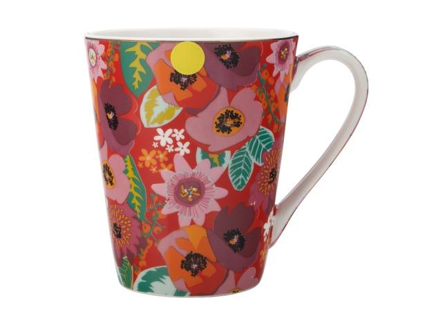 Maxwell & Williams: Teas & C's Glastonbury Mug - Poppy Red (360ml)