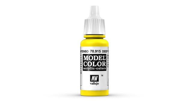 Vallejo Model Colour Deep Yellow 17ml
