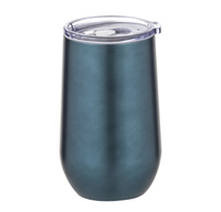 Davis & Waddell: Double Wall Cool Cup - Teal (8x8x14.5cm/500ml) image