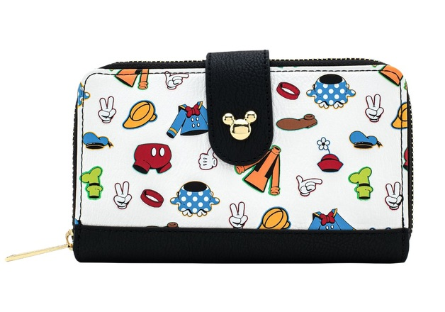 Loungefly: Disney - AOP Outfits Wallet