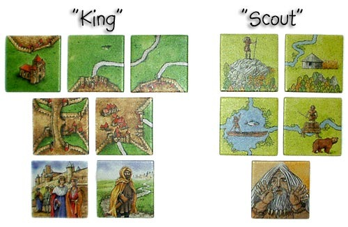 Carcassonne Expansion - King and Scout