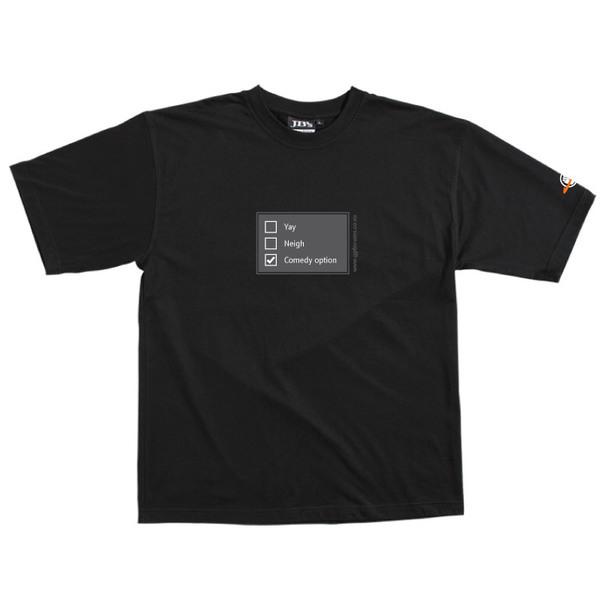 Poll - Tshirt (Black) XL for