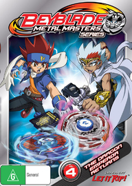Beyblade Metal Masters Volume 4: The Dragon Emperor Returns on DVD
