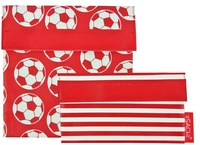 Sachi Reusable Lunch Pocket Set - Soccer Ball