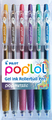 Pilot Pop'Lol Gel Pen 6 Pack - Metallic