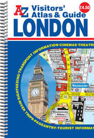 London Visitors Atlas & Guide by Geographers A-Z Map Company