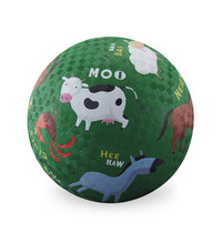 "Crocodile Creek 7"" Playground Ball - Barnyard"