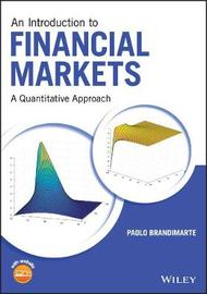 An Introduction to Financial Markets by Paolo Brandimarte image