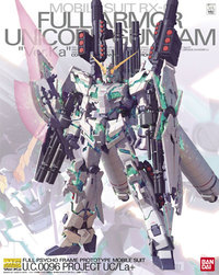 MG 1/100 Full Armour Unicorn Gundam Ver.Ka (Premium Decal Ver.) - Model Kit