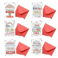 IGGI 6 Pack Assorted Christmas Cards