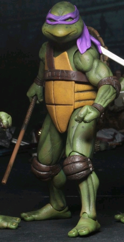 "Teenage Mutant Ninja Turtles: Donatello (1990 Ver.) - 7"" Action Figure"