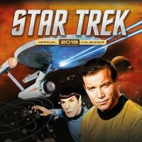 Star Trek TV Series Classic 2019 Square Wall Calendar