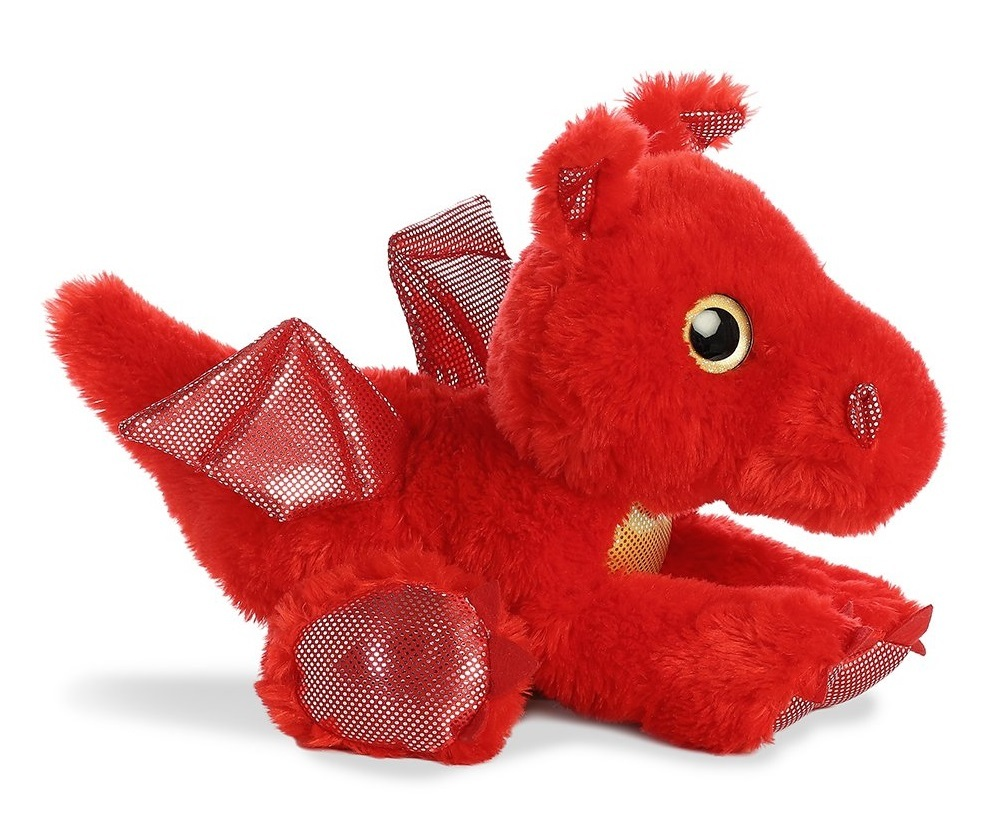 Aurora: Sparkle Tales - Sizzle Red Dragon (30cm) image