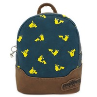 Loungefly: Pokemon - Pikachu Print Mini Backpack