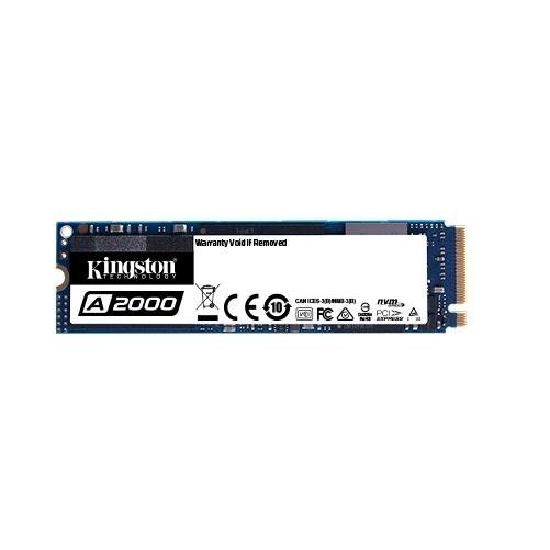 250GB Kingston A2000 NVMe M.2 PCIe SSD