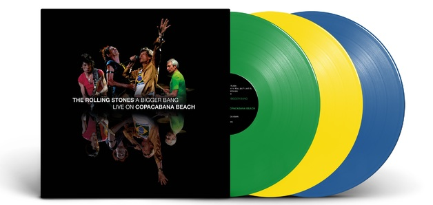 A Bigger Bang (Limited Coloured Vinyls) by The Rolling Stones