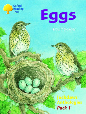 Oxford Reading Tree: Levels 8-11: Jackdaws: Pack 1: Eggs by Adam Coleman image
