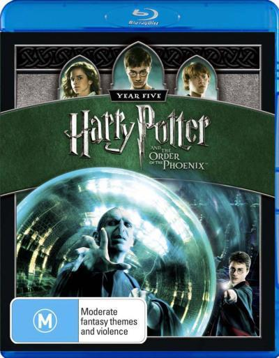 Harry Potter And The Order Of The Phoenix on Blu-ray