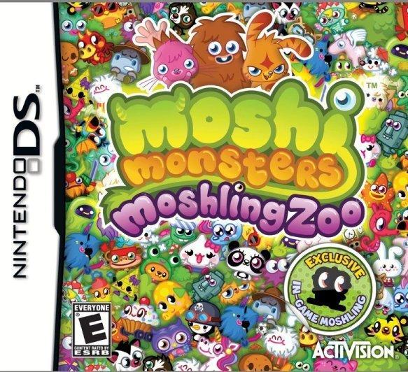 Moshi Monsters: Moshling Zoo (U.S version, region free) for Nintendo DS