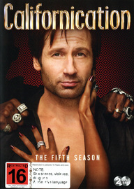 Californication - Season 5 on DVD image