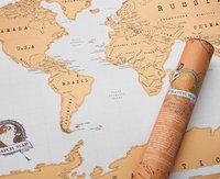 Scratch off World Map (Luckies of London)