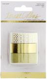 Teresa Collins - Gold Glam Premium Glitter Washi Tape (3 Pk)
