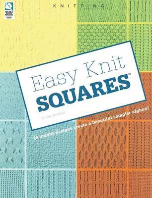 Easy Knit Squares by Lisa Carnahan image
