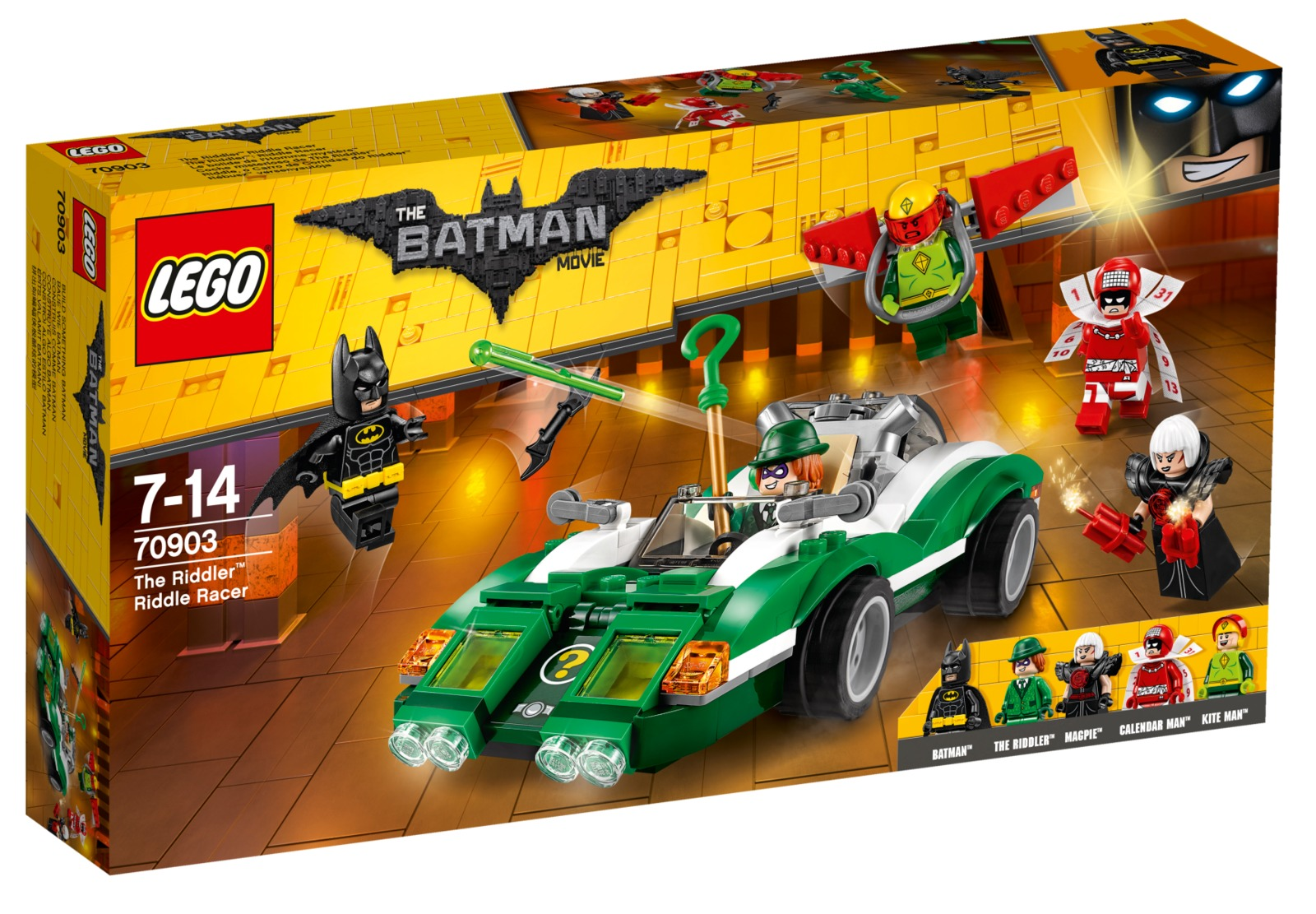 LEGO Batman Movie: The Riddler Racer (70903) image