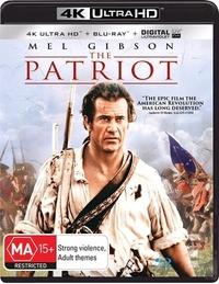 The Patriot on UHD Blu-ray