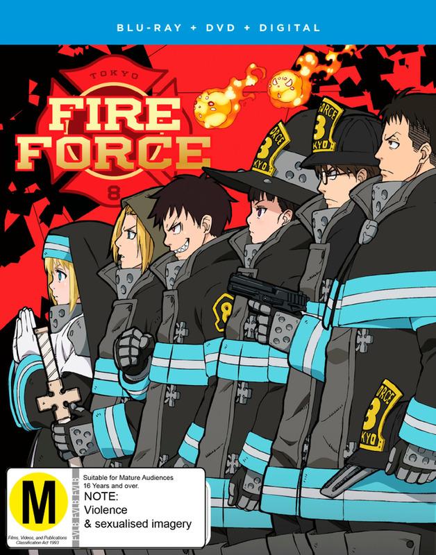 Fire Force: Season 1 - Part 2 (DVD / Blu-ray Combo) on Blu-ray