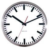 Karlsson White Station Wall Clock - 29cm