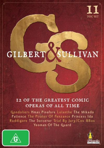 Gilbert & Sullivan (11 Disc Box Set) on DVD image