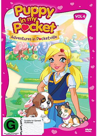 Puppy in My Pocket: Volume 4 on DVD