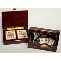 Las Vegas Card Box (Cigar Design)