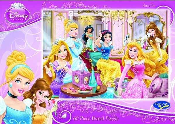 Holdson 60pce Puzzles - Disney Princess - Princess Perfection