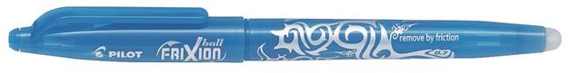 Pilot FriXion Capped Gel Pen Light Blue