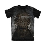 Game of Thrones Iron Throne T-Shirt (X-Large)